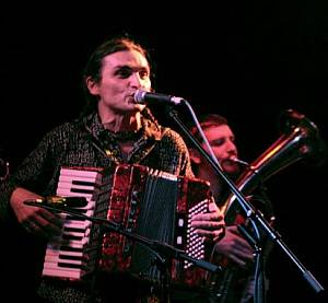 Jarda Svoboda na koncertě v Roxy