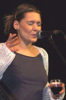 Inka Tognerová - šantré. Foto: Jiří Šámal st.